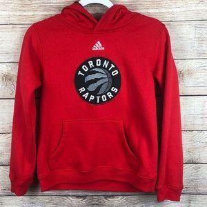 Adidas Toronto Raptors Hoodie Boys 10/12